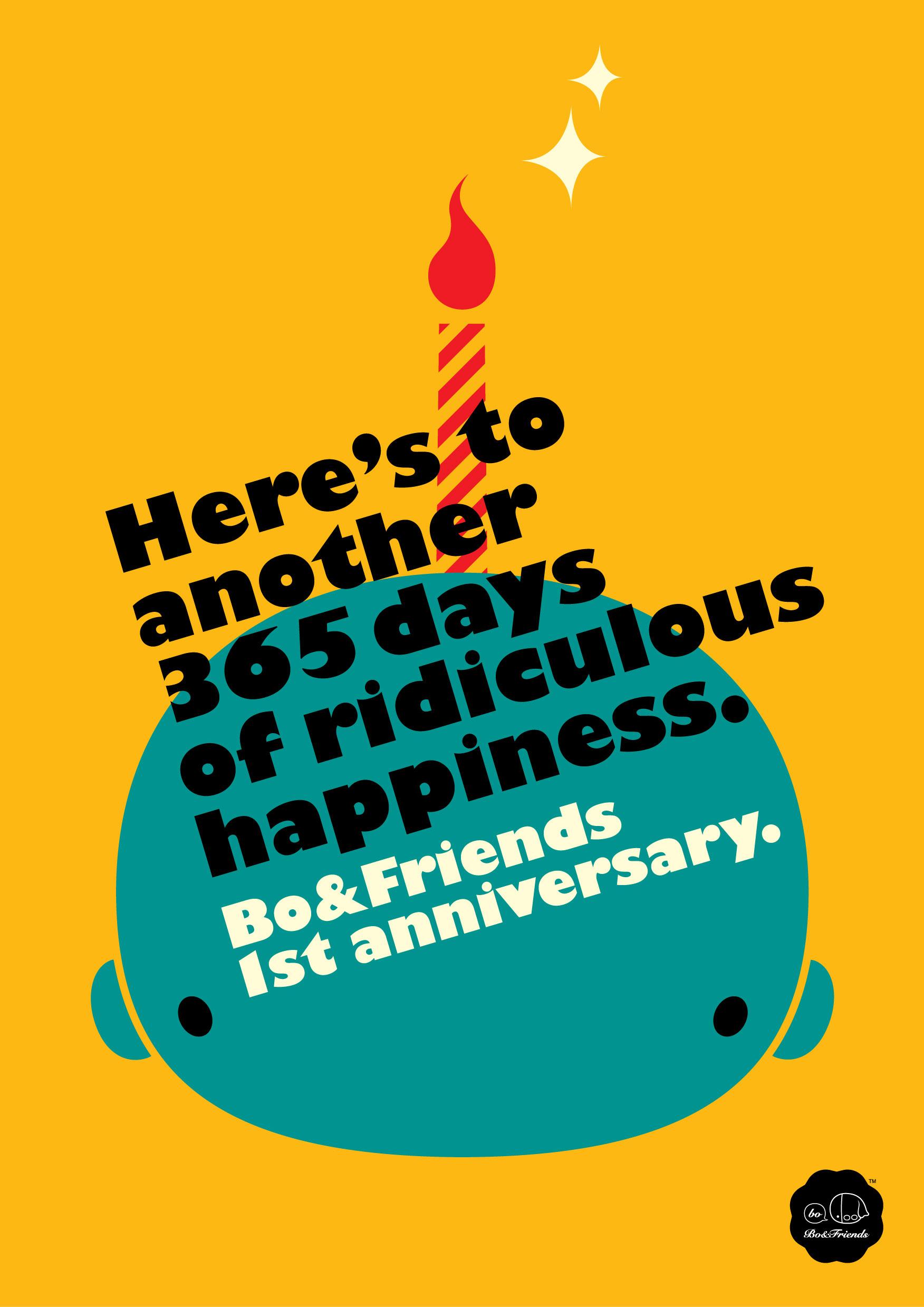 Happy 1st Anniversary Bofriends Bofriends